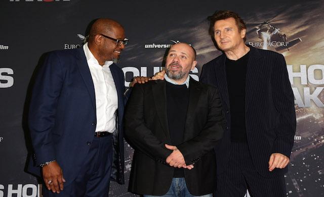 Forest Whitaker, Olivier Megaton und Liam Neeson