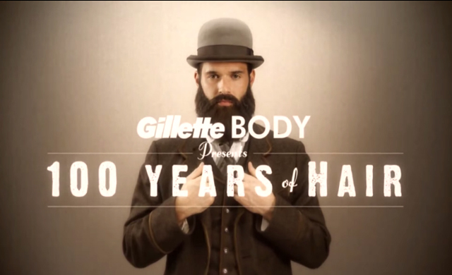 100 years of hair gillette