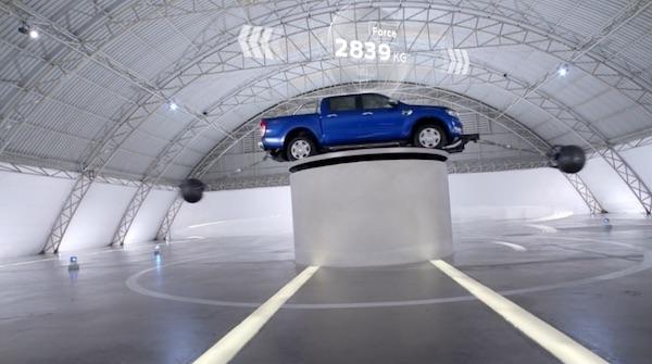 Volt 作品:福特《The Science of Truck》  Volt: Ford 'The Science of Truck