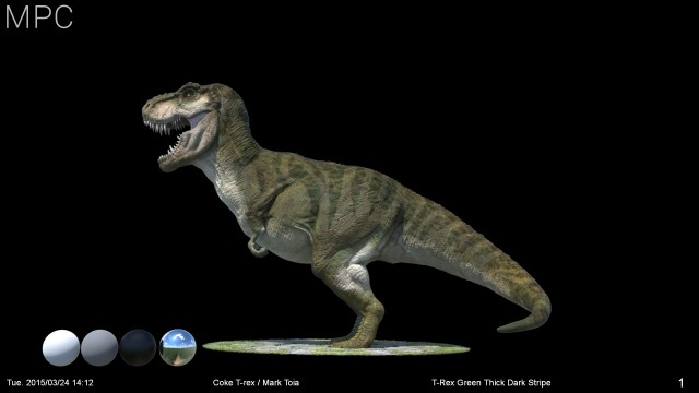 T-rex_Green_Thick_Dark_Stripes